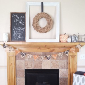Fun Fall Mantel/ Halloween Mantel