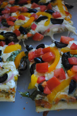 Mediterranian Pizza