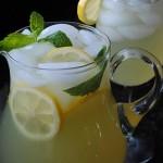 Iced Mint Lemonade