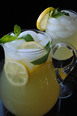 Iced Mint Lemonade