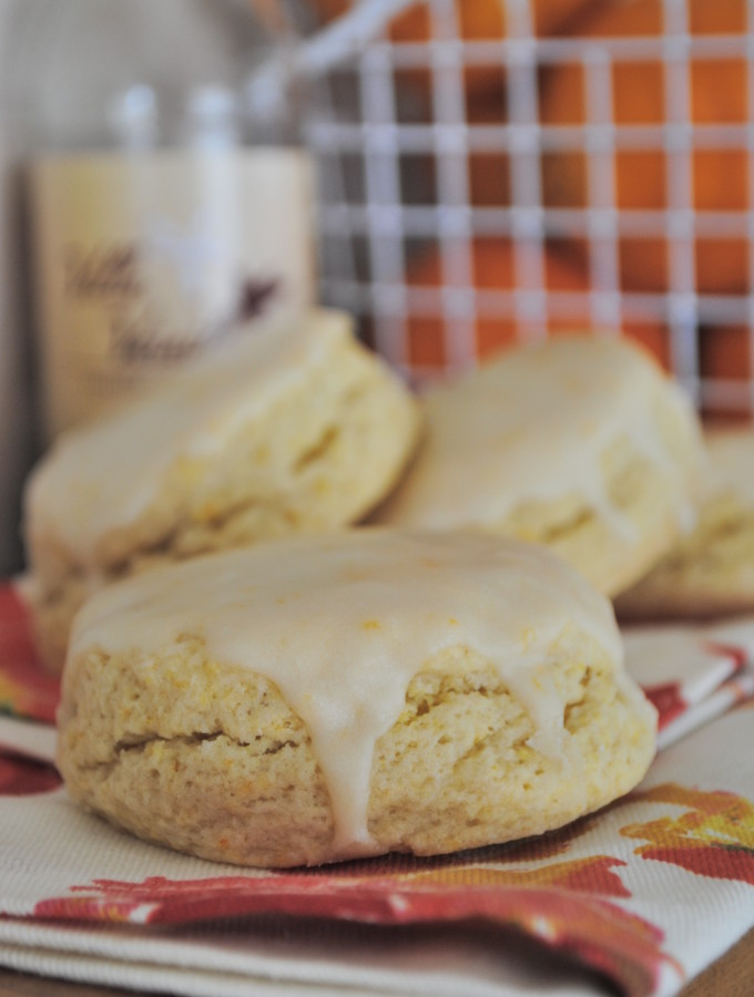 Wild Orange and Vanilla Scones