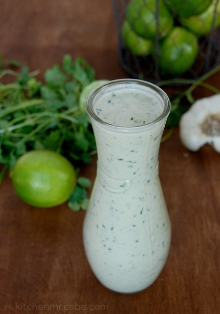 Creamy Cilantro Lime Dressing - The Kitchen McCabe