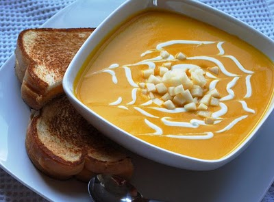 Velverty Carrot soup 032