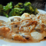 Chicken Mushroom Biscuits and Gravy