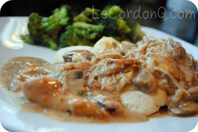 Chicken Mushroom Biscuits and Gravy
