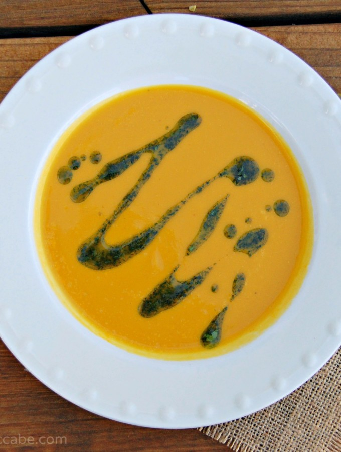 Curried Coconut Pumpkin Bisque
