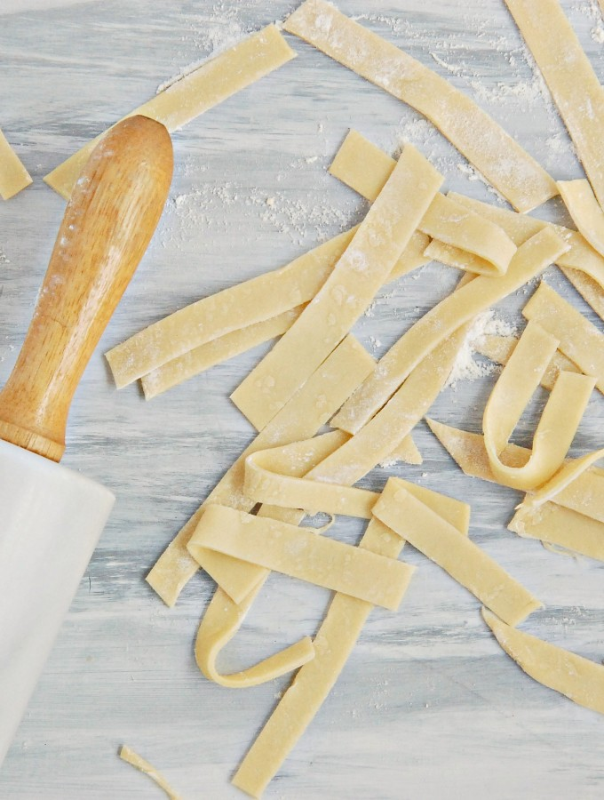 HOW TO: Homemade Egg Noodles