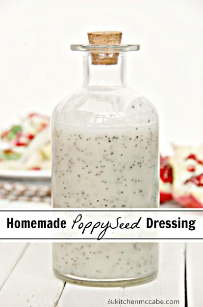 Homemade Poppyseed Dressing cover