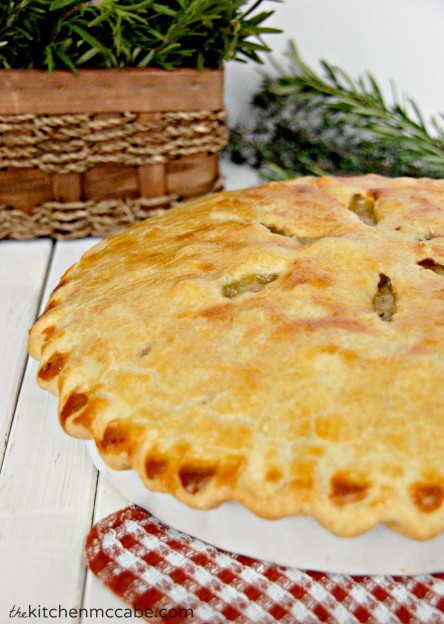 chicken pot pie with mushrooms 4