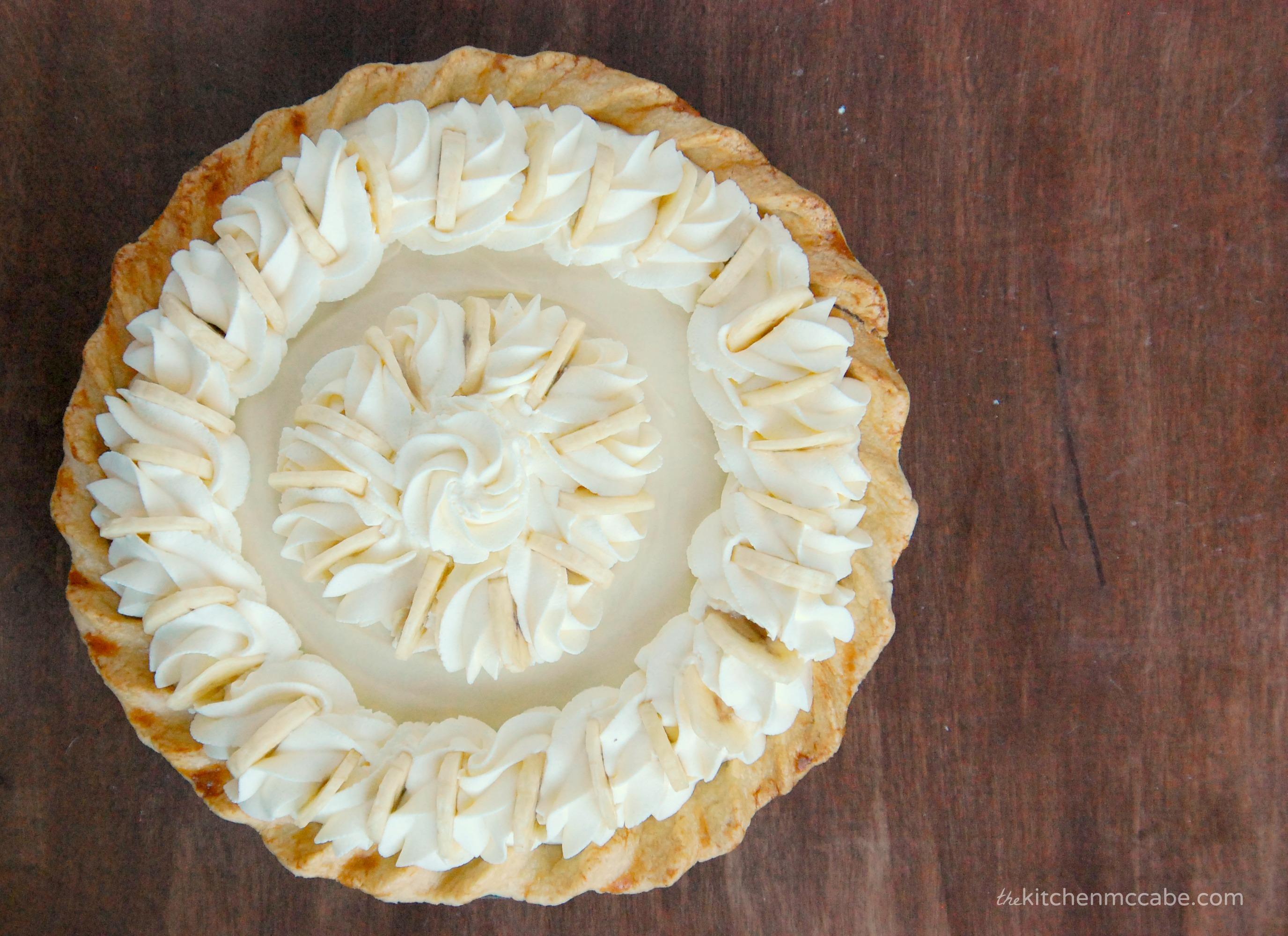 Banana Coconut Cream Pie - The Kitchen McCabe