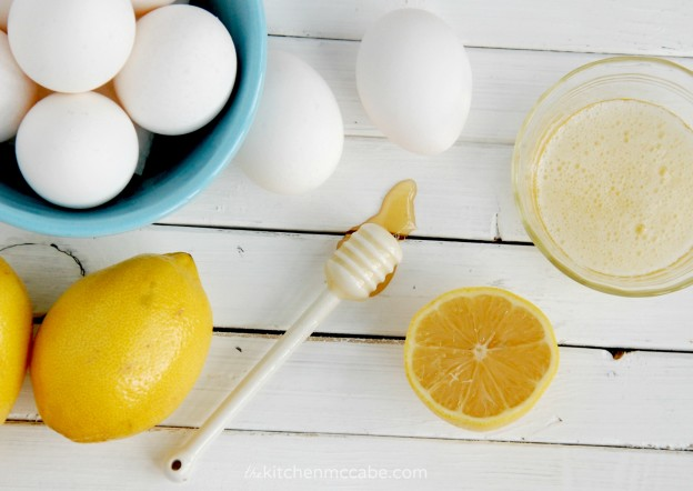 honey lemon egg white diy mask homemade 4