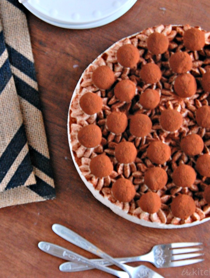 Chocolate Caramel Mousse Torte