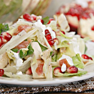 winter pomegranate swiss salad 4