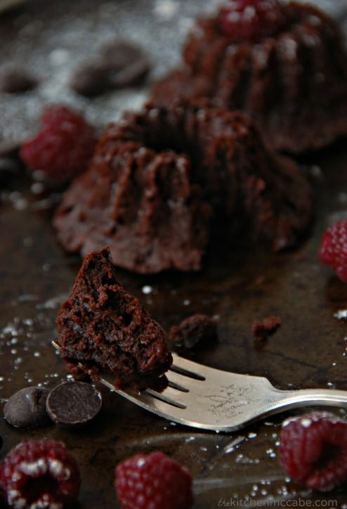 chocolate raspberry cakes 6