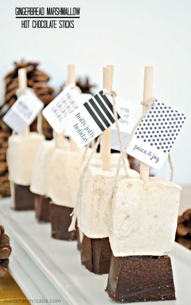 gingerbread hot chocolate sticks 7