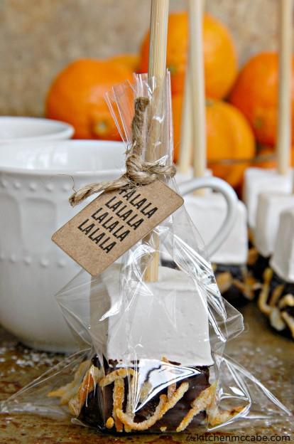 orange marshmallow hot chocolate stir stick 3