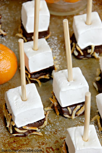orange marshmallow hot chocolate stir stick 4