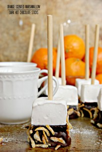 orange marshmallow hot chocolate stir stick 7