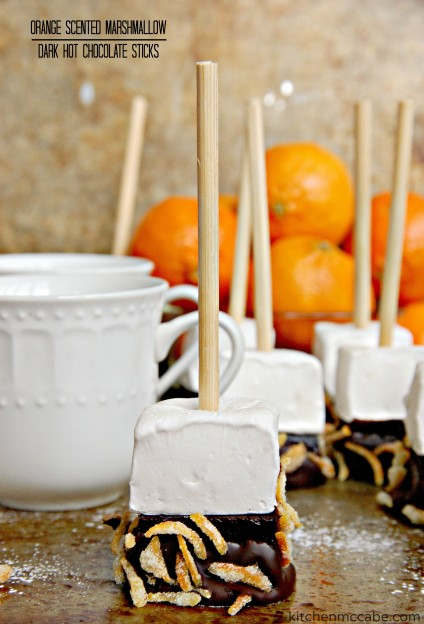 orange marshmallow hot chocolate stir stick 7