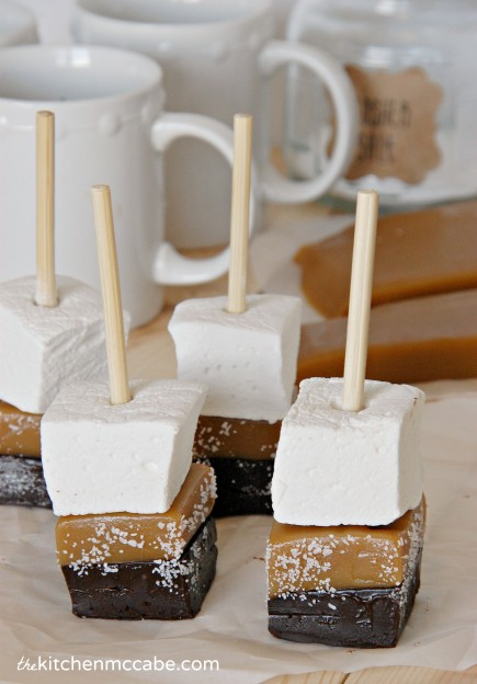 salted caramel hot chocolate stick 1
