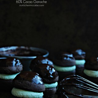 Mint chocolate whoopie pie 4