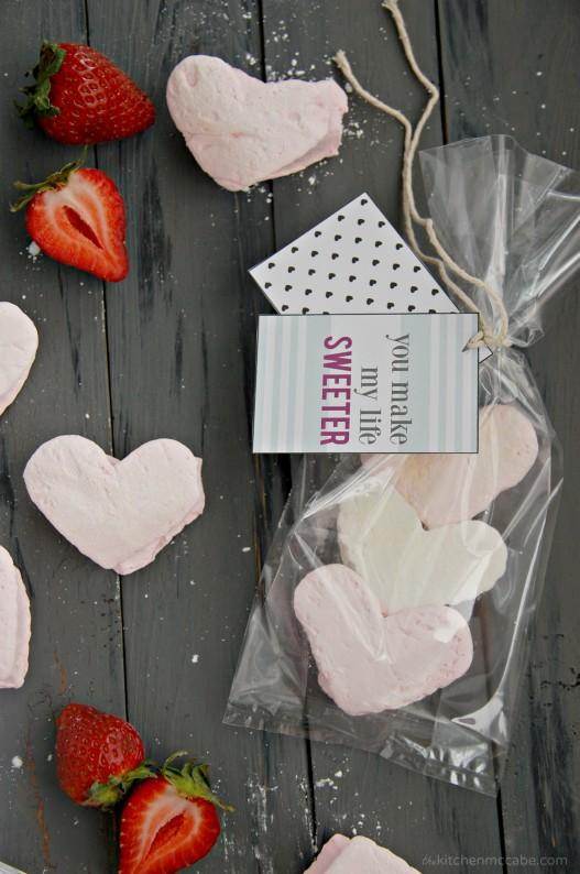 homemade strawberry marshmallows valentines day 5