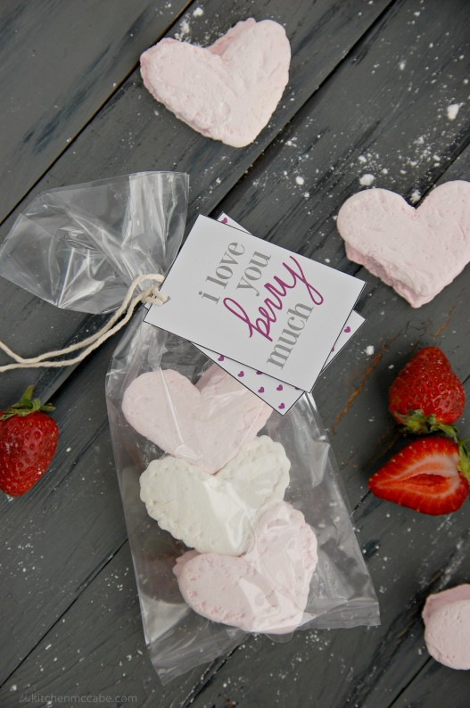 homemade strawberry marshmallows valentines day 7