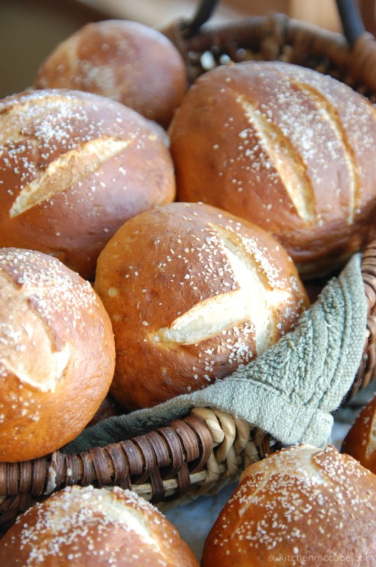 soft homemade pretzel rolls print roll dough into 12 balls for rolls ...