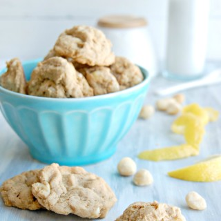 white chocolate chip macadamia lemon cookies 2