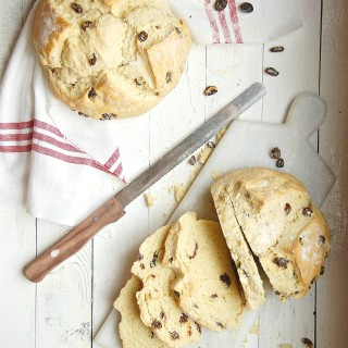 Irish Soda Bread with Raisins 4