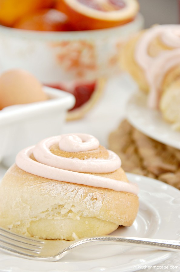 blood orange sweet rolls with orange buttercream cream cheese frosting 2