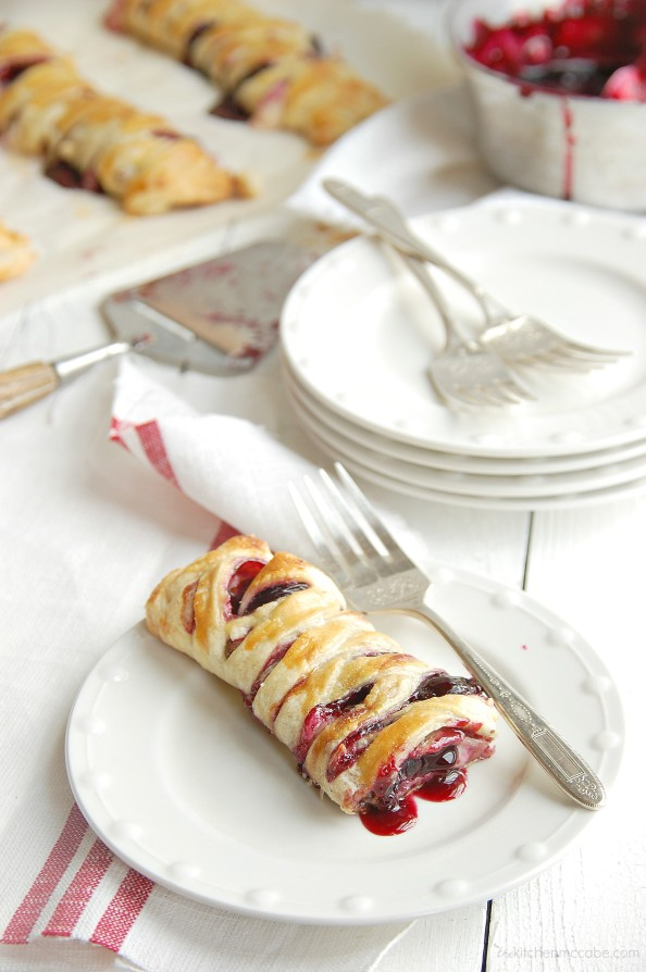 chocolate cherry cream cheese danish 4