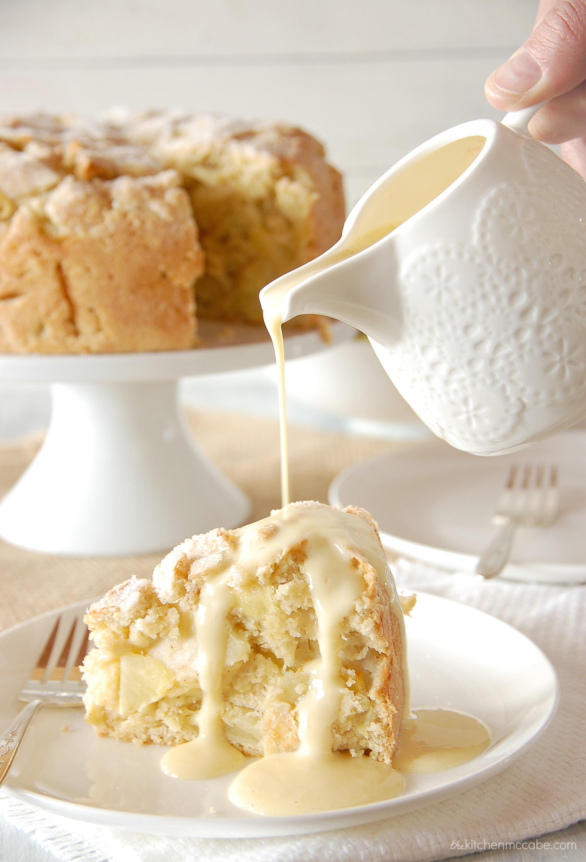 Basic Cake Mix For Apple Cake