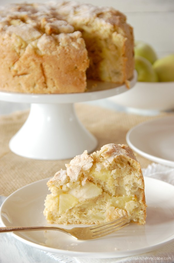 Cake Mix Apple Bread