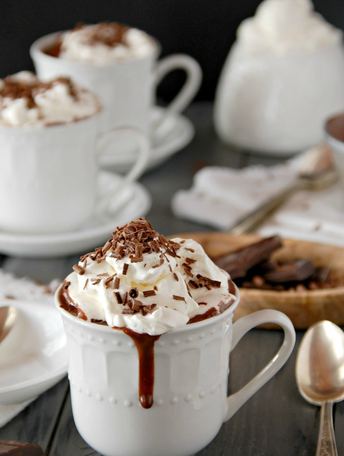 Thick Spiced Italian Hot Chocolate