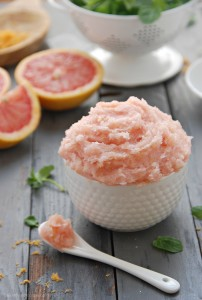whipped Grapefruit Peppermint Body Scrub 2