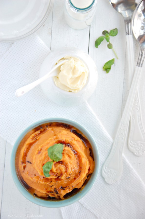 whipped sweet potatoes with rosemary browned butter 2