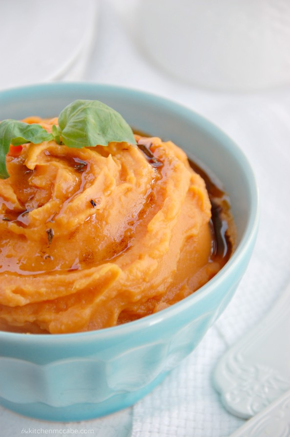 whipped sweet potatoes with rosemary browned butter 3