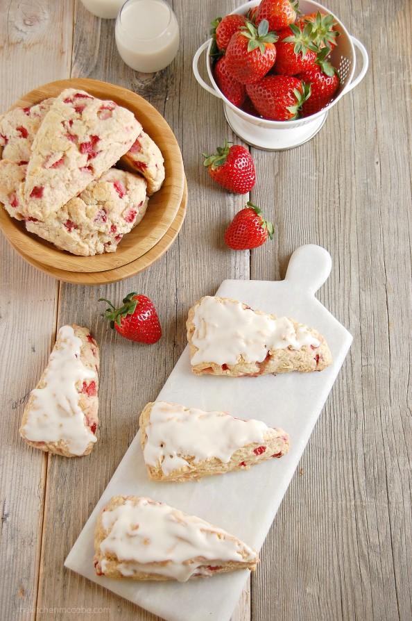 strawberries and cream scones 3