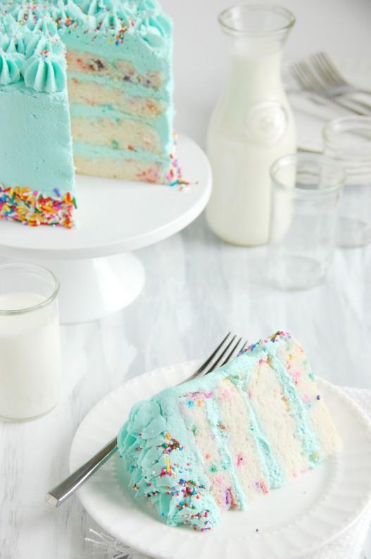 Funfetti Celebration Cake - gluten & dairy free | thekitchenmccabe.com