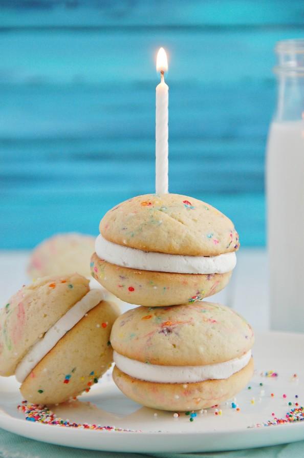 Funfetti Cake Batter Whoopie Pies | thekitchenmccabe.com