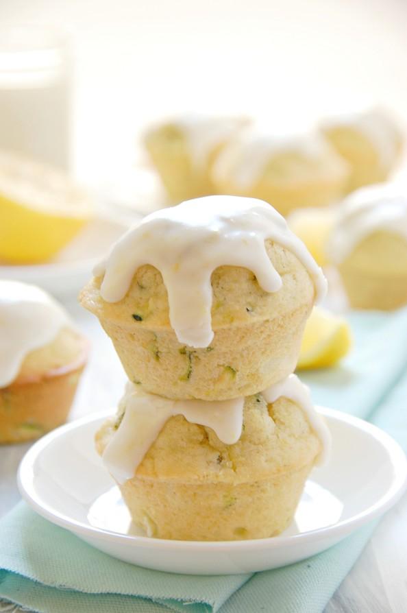 Lemon Zucchini Muffins | thekitchenmccabe.com