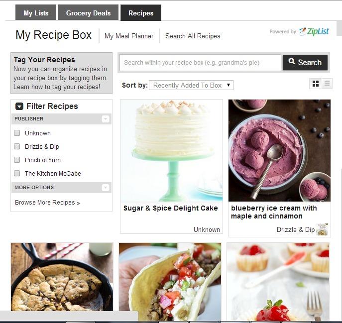 recipe box 3 zl