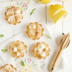Lemon Meringue Shortbread Tartlets