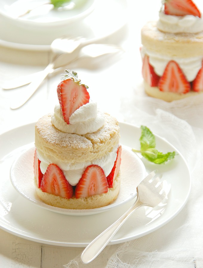 Individual Strawberry Shortcakes
