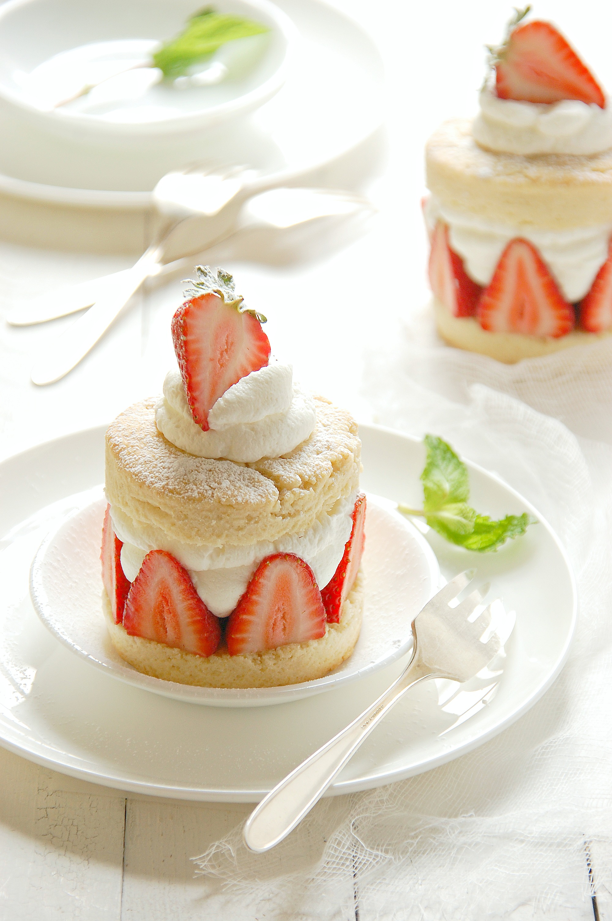 Individual Strawberry Shortcakes The Kitchen Mccabe