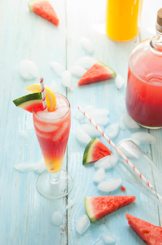 watermelon canteloupe lemonade 6