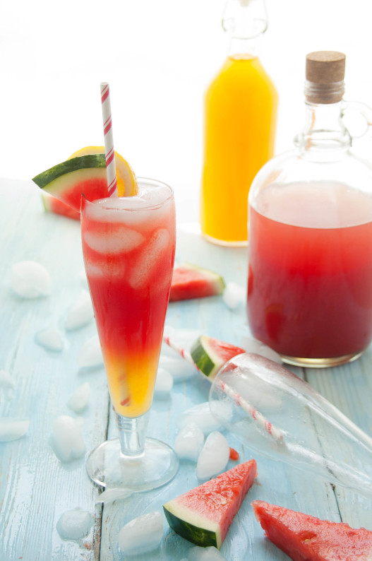 watermelon canteloupe lemonade 7