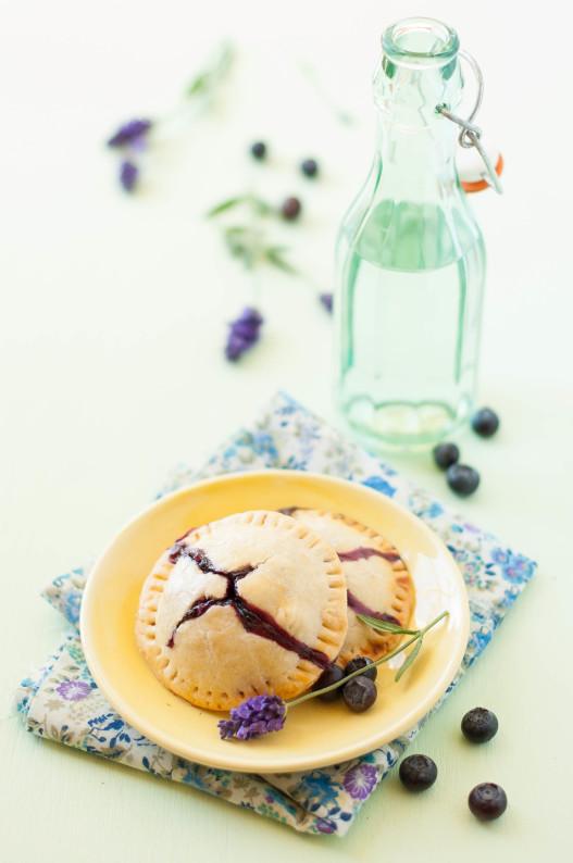Blueberry Lavender Hand Pies | thekitchenmccabe.com