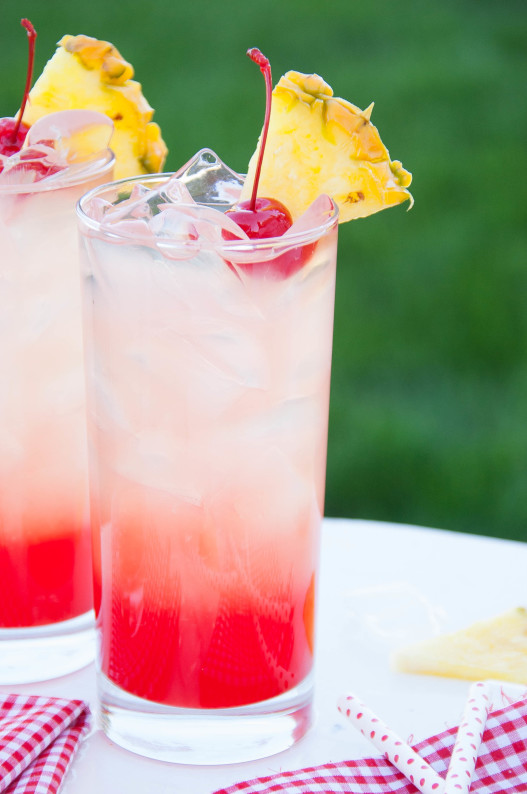 Cherry Pineapple Lemonade | thekitchenmccabe.com